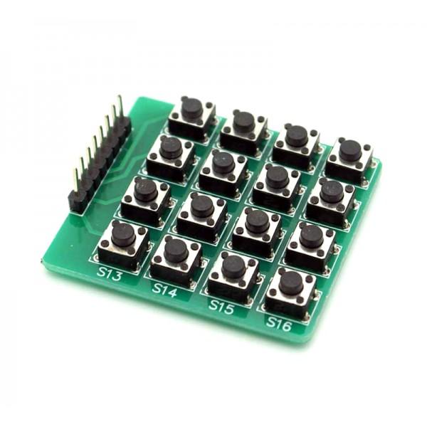 کیپد 4x4 ماتریسی Push Button Module