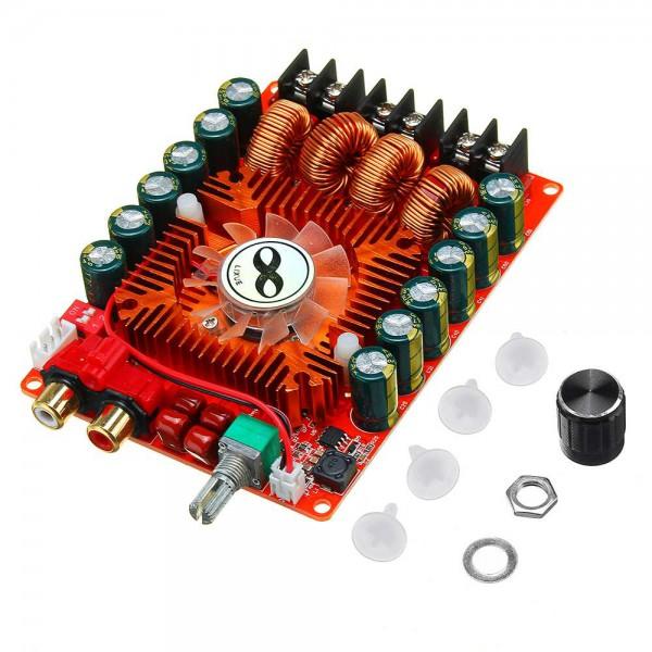آمپلی فایر 2X160 وات استریو Dual TDA7498E با ولتاژ 15 تا 36 ولت 8 آمپر