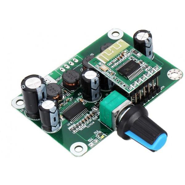 ماژول آمپلی فایر استریو 50W + 50W بلوتوث TPA3110 ولتاژ 12 24 ولت