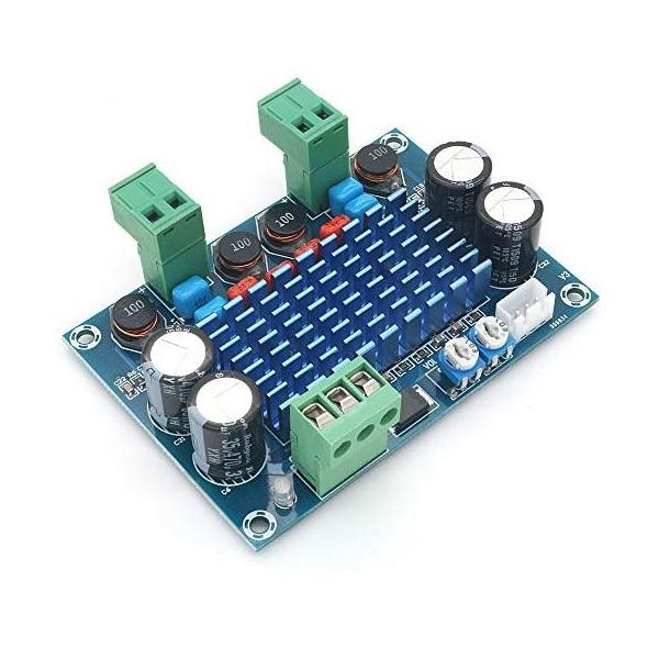 آمپلی فایر 120 وات دیجیتال TPA3116d2 با ولتاژ 5 - 28 ولت DC v