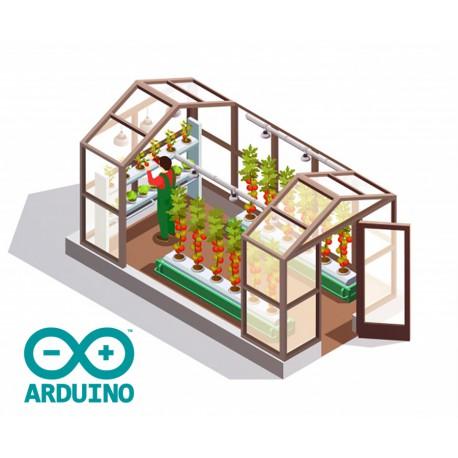 نرم افزار (فریمور) نمایش پارامترهای گلخانه بر بستر آردوینو