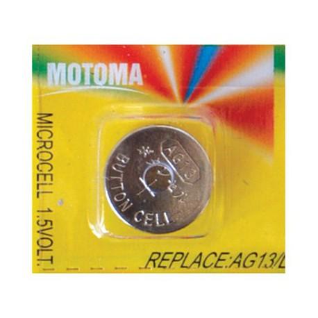 باتری ساعتی LR44 موتوما Motoma