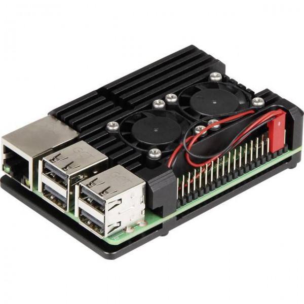 جعبه آلومینیومی هیت سینک رزبری پای 4 Heatsink case Raspberry Pi