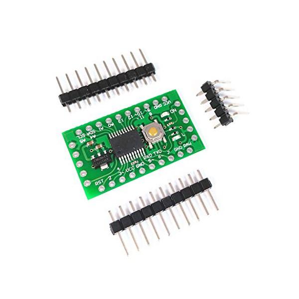 ماژول LGT8F328P SS0P20 mini EVB Pro mini بر پایه تراشه Atmega328P