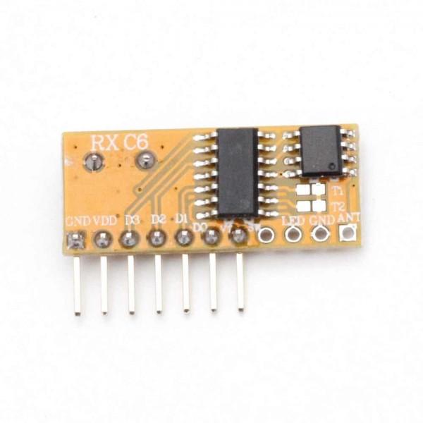 ماژول گیرنده 315Mhz کد لرن وایرلس سوپرهترودین RXC6 - دانشجو کیت
