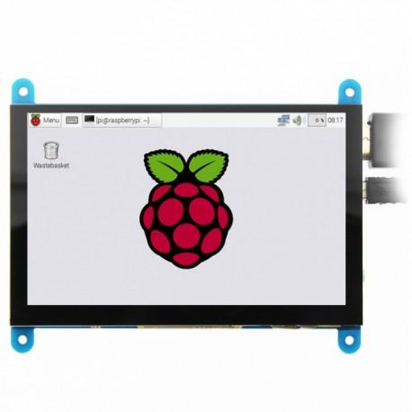نمایشگر ال سی دی 5 اینچ خازنی رزبری پای 5inch HDMI Display -B با رزولوشن 800X480