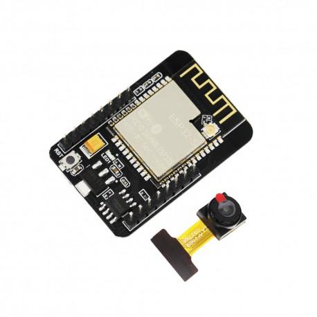 برد ESP32-S Camera دارای WIFI و Bluetooth داخلی همراه با دوربین