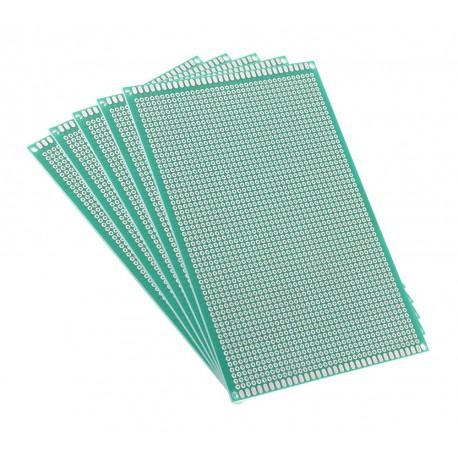 فیبر مدار چاپی سوراخ دار متالیزه 10x15 دورو