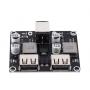 ماژول پاور بانک فست شارژ QC2.0 QC3.0 با توان 24W دو کاناله