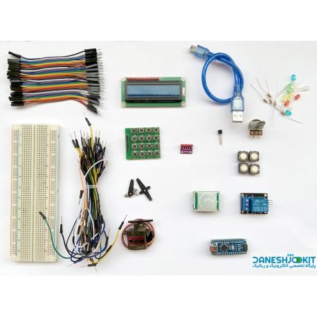 کیت آموزشی بر پایه آردوینو Arduino NANO - آموزش آنلاین