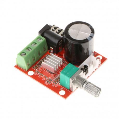 آمپلی فایر استریو کلاس D با توان 15 وات بر پایه تراشه PAM8610
