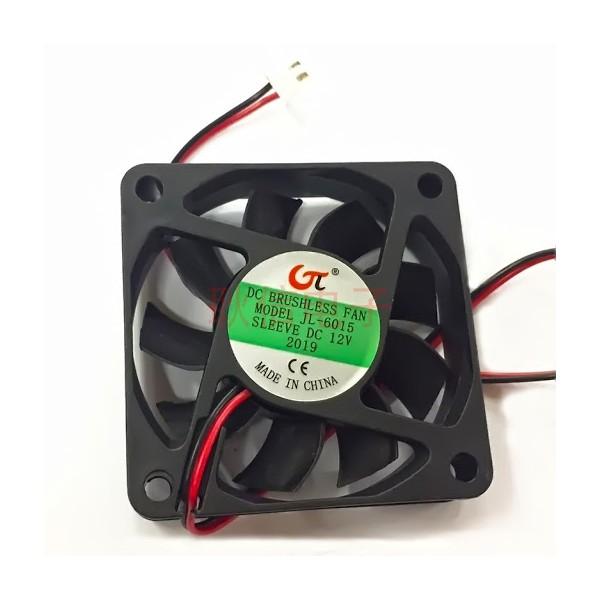 فن خنک کننده 6x6 پلاستیکی 12 ولت آمپر پایین برند HXS