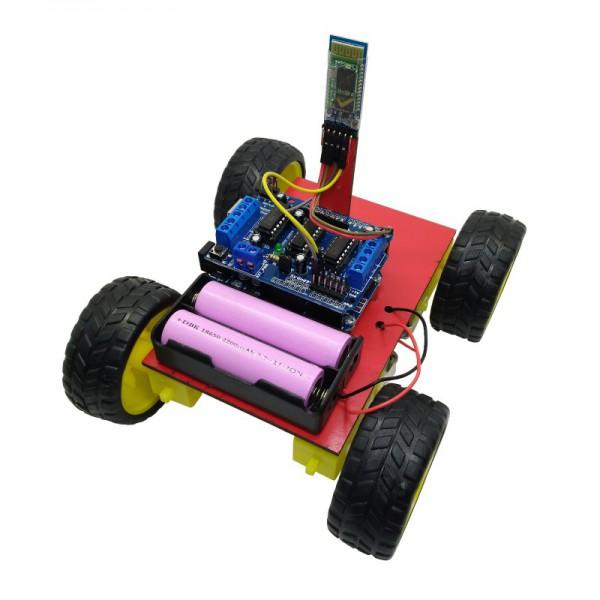 کیت رباتیک آوات روبو مدل کنترل از راه دور بلوتوث با موبایل - دانشجو کیت