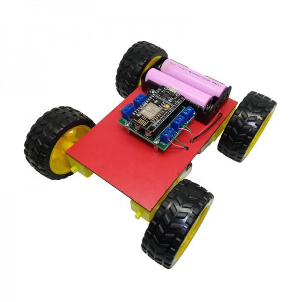 کیت رباتیک آوات روبو مدل کنترل از راه دور وای فای با موبایل - دانشجو کیت