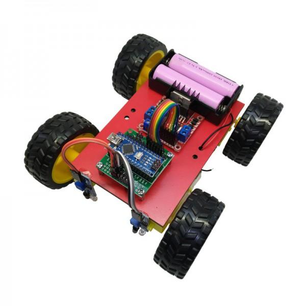 کیت رباتیک آوات روبو مدل مسیریاب L298 - دیجی اسپارک
