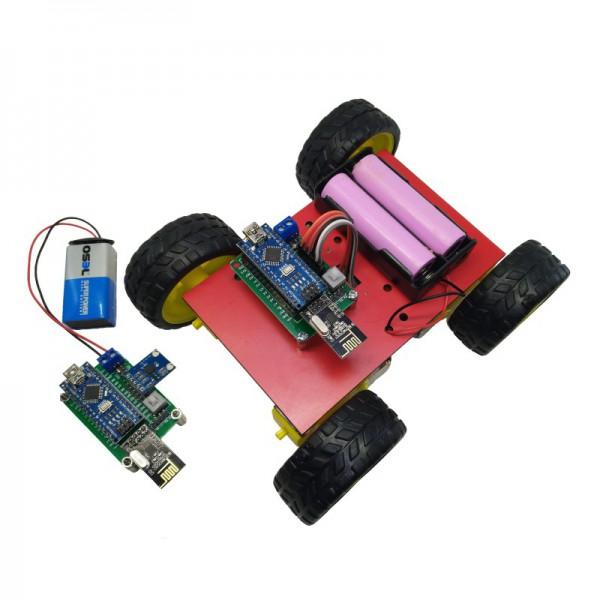 کیت رباتیک آوات روبو مدل کنترل از راه دور با استفاده از حرکات دست - دانشجو کیت