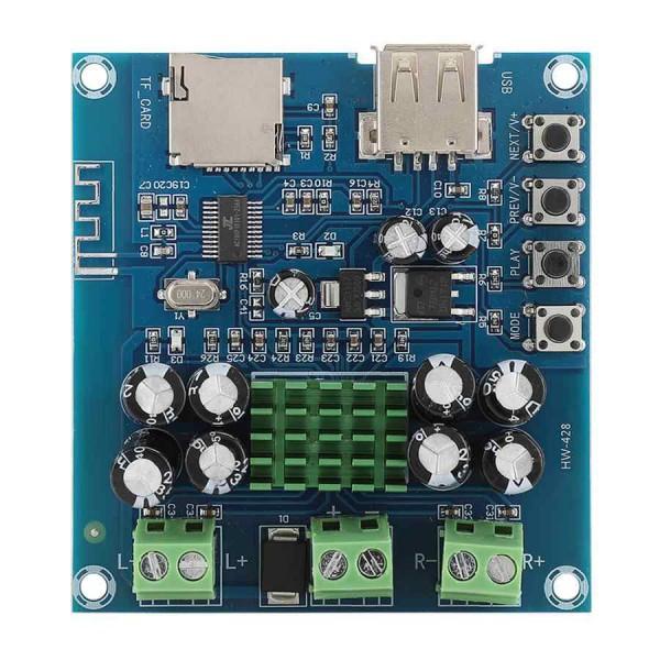 ماژول آمپلی فایر بلوتوث TPA3116D2 استریو 2X50 وات مدل HW-428 - دانشجو کیت