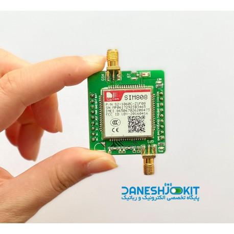 ماژول سیم کارت SIM808 با قابلیت GPS / GSM