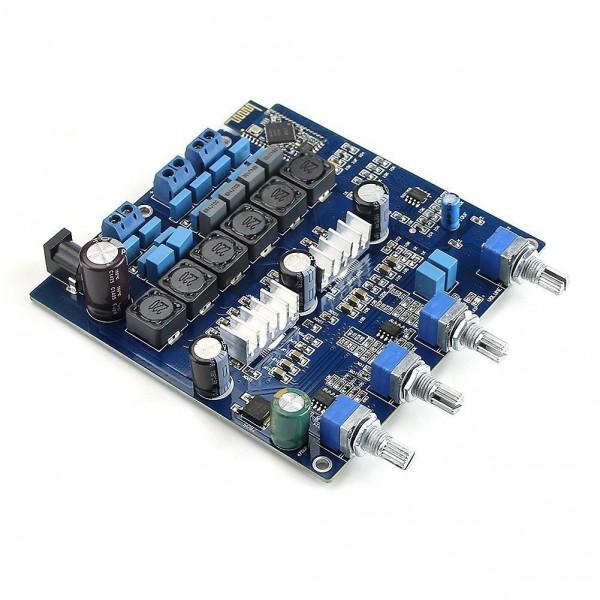 ماژول آمپلی فایر بلوتوث کلاس D با تراشه TPA3116 با توان 2x50W + 100W