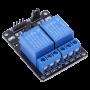 ماژول رله 12 ولت دو کاناله برند TONGLING با اپتوکوپلر Relay Module