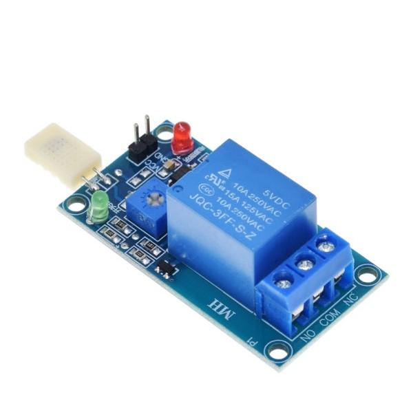 ماژول کنترلر رطوبت محیطی با سنسور HR202L و خروجی رله