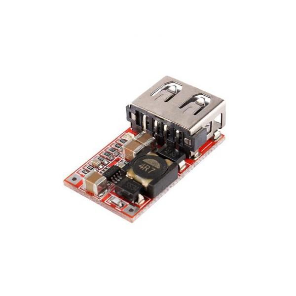 ماژول کاهنده ولتاژ از 6-24 ولت به 5V 3A با USB