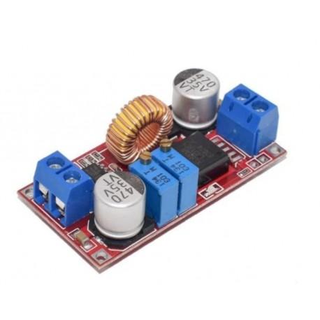 ماژول کاهنده ولتاژ و جریان XL4015 با کنترل جریان 5A