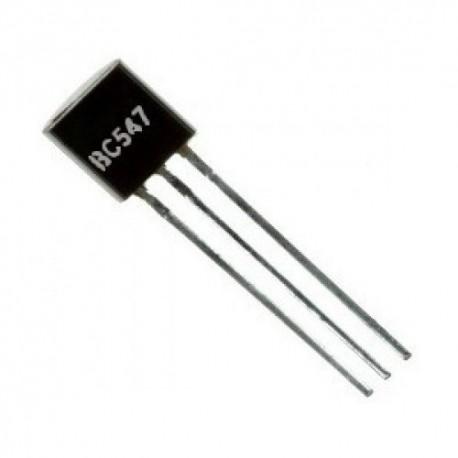 ترانزیستور BC547 پکیج TO-92