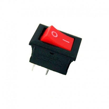 کلید بچه راکر دو حالته قرمز KCD11 101