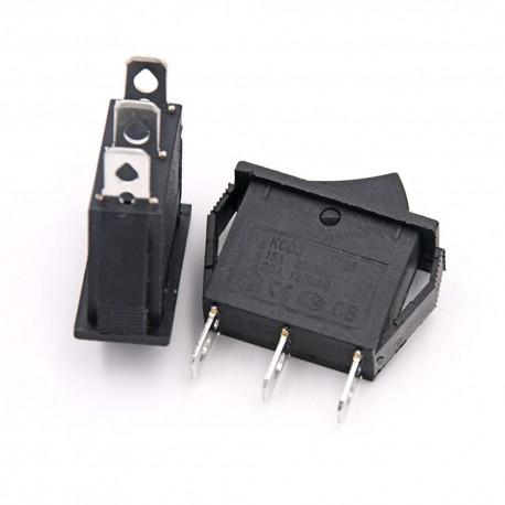 کلید راکر بزرگ باریک دو حالته KCD3 101 مدل سه فیش