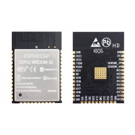 تراشه ESP32 وای فای و بلوتوث ESP32 - WROOM-32 دارای آنتن داخلی