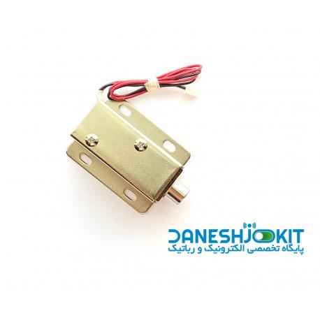قفل برقی شافت گرد 12 ولت
