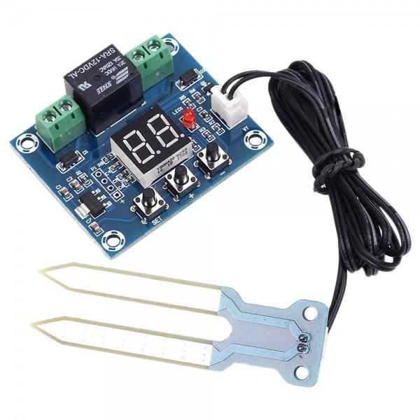 ماژول کنترل رله رطوبت با نمایشگر سون سگمنت XH-M214