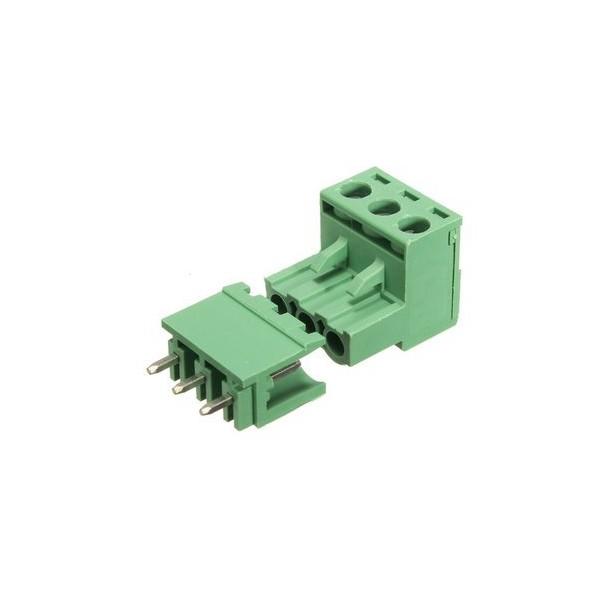 ترمینال کشویی فونیکس 3 پین رایت phoenix connector