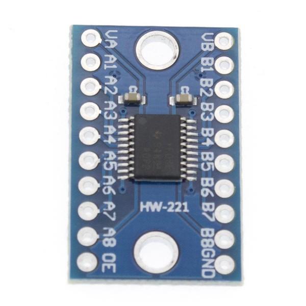 ماژول مبدل سطح ولتاژ لاجیک TXS0108E Logic Level دو طرفه 8 بیتی - دانشجو کیت