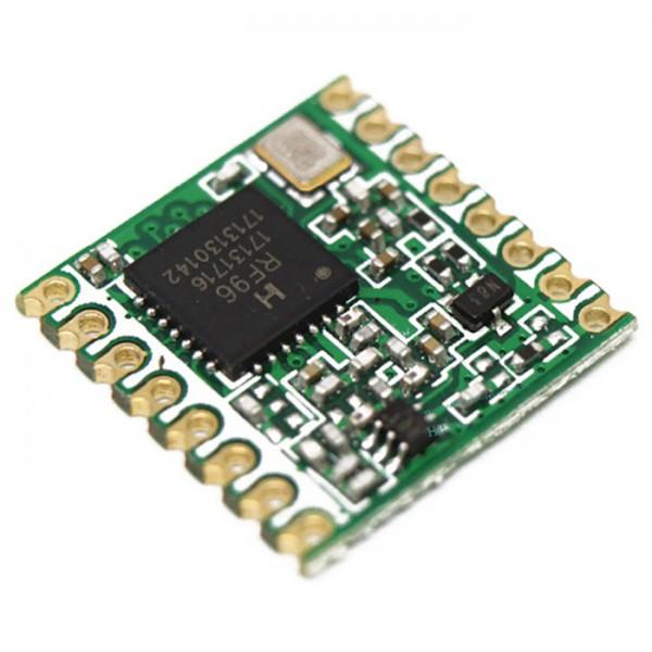 ماژول فرستنده گیرنده RF TRANSCEIVER RFM69 فرکانس 915MHZ