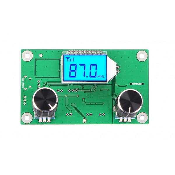 ماژول گیرنده رادیویی استریو FM با نمایشگر LCD