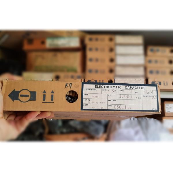 بسته 2000 عددی خازن 47 میکروفاراد 10 ولت برند SAMHWH - دانشجو کیت