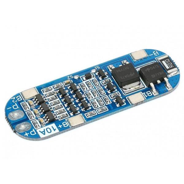 ماژول کنترل شارژ باتری لیتیومی 18650 ظرفیت 3 سل