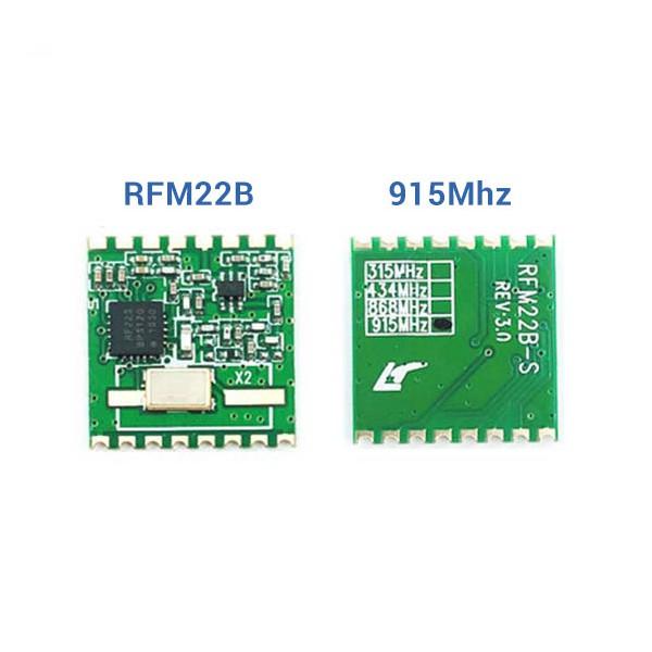 ماژول فرستنده گیرنده رادیویی RFM22-B REV3.0 فرکانس 915Mhz