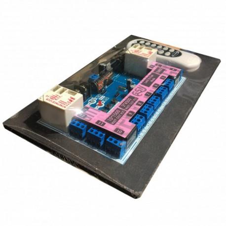 ماژول گیرنده رادیویی رله 12 کانال-12 ولت با فرکانس 433MHz