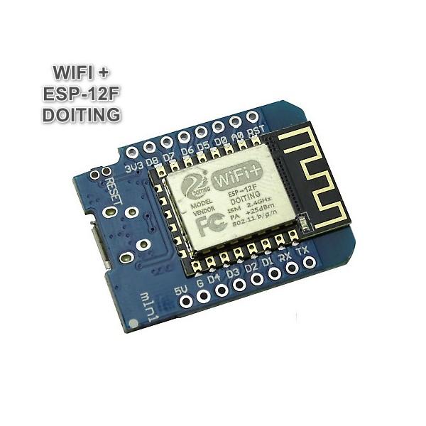 برد WEMOS D1 MINI با تراشه ESP - 12F با 4 مگابایت حافظه فلش