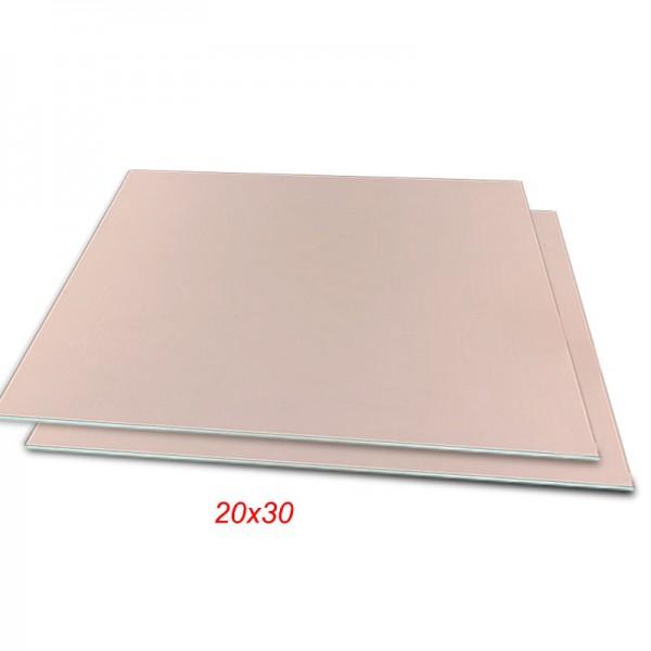 فیبر مسی 30x20cm مدار چاپی فنول یک رو 1.6mm