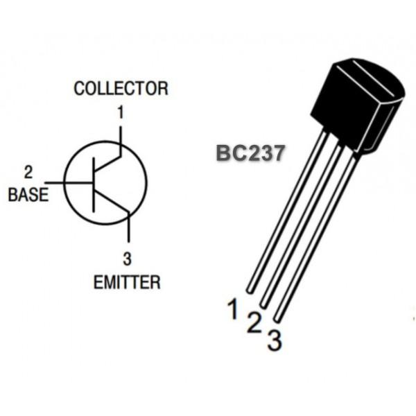 ترانزیستور آمپلی فایر BC237