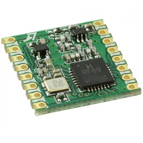 ماژول فرستنده گیرنده RFM69 با فرکانس 915MHZ