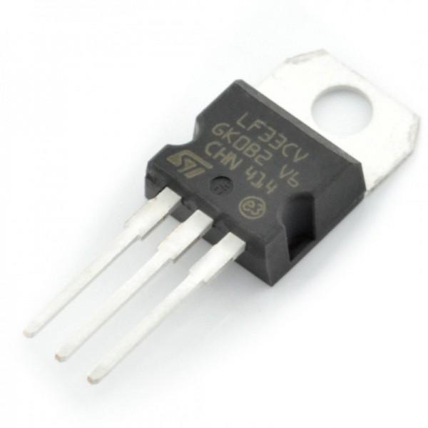 رگولاتور 3.3 ولت LF33 اورجینال پکیج TO-220