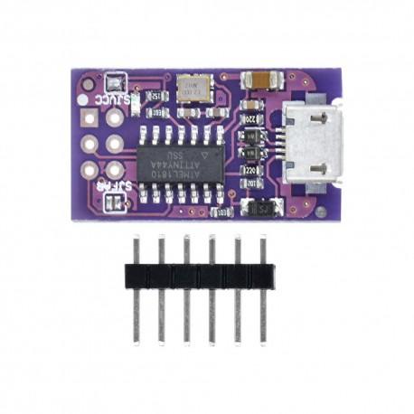 برد توسعه ATTINY44 AVR ISP مدل HW-534