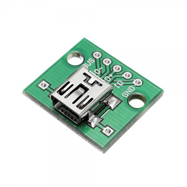 ماژول مبدل تغذیه MINI USB TO DIP
