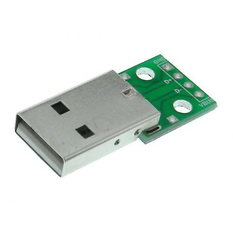برد تغذیه نری USB TYPE A