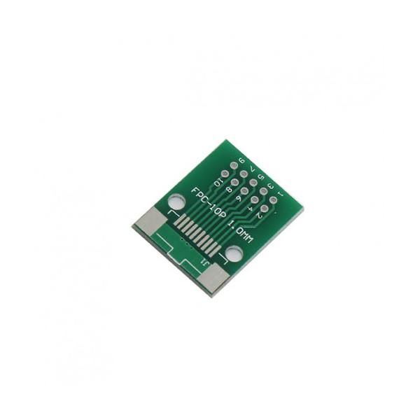 برد PCB آداپتور FPC10 دارای استاندارد 0.5 میلی متری - دانشجو کیت